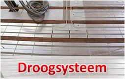 Vloerverwarming met droogbouwsysteem